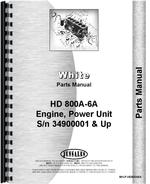 Parts Manual for Minneapolis Moline HD 800A6A Power Unit