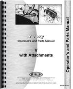 Operators & Parts Manual for Minneapolis Moline V Plow