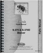 Parts Manual for Mitsubishi D1300FD Tractor