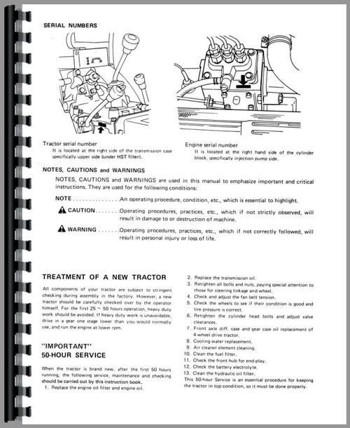 mitsubishi mt180 tractor operators manual rh themanualstore com mitsubishi operators manual puhy-p96y-jmu-a mitsubishi m70 operator manual