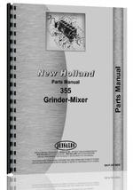 New Holland 355 Grinder Mixer Parts Manual