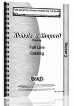 Catalog for Nichols and Shepard all Sales Catalog