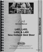 Service Manual for New Holland L454 Skid Steer