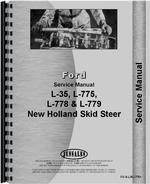 Service Manual for New Holland L778 Skid Steer