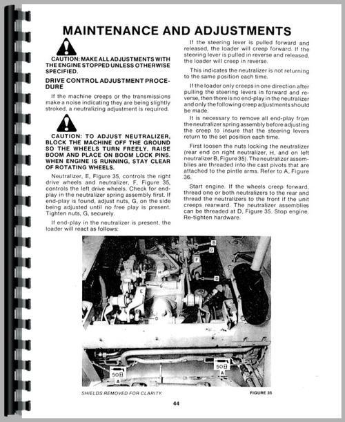 new holland skid steer repair manual