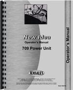 Operators Manual for New Idea 709 Power Unit