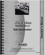 Operators Manual for New Idea 838 Husking Unit