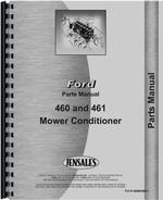 Parts Manual for New Holland 460 Mower Conditioner Attachment