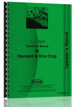 Operators Manual for Cockshutt 80 Tractor
