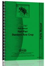 Parts Manual for Oliver (Hart Parr) All Standard Row Crop