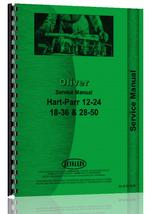 Service Manual for Oliver (Hart Parr) Hart Parr 18-36 Tractor