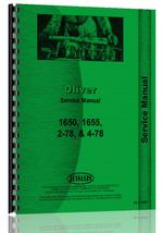 Service Manual for White 2-78 Tractor