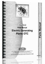 Parts Manual for Onan OTC Electric Generating Plants