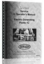 Service & Operators Manual for Onan C1 Electric Generating Plants