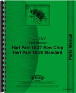 Parts Manual for Oliver (Hart Parr) Hart Parr 18-27 Tractor