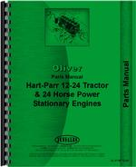 Parts Manual for Oliver (Hart Parr) Hart Parr 24-12 Tractor