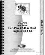 Parts Manual for Oliver (Hart Parr) Hart Parr 40 Engine