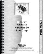Parts Manual for Oliver (Hart Parr) Hart Parr 70 Tractor