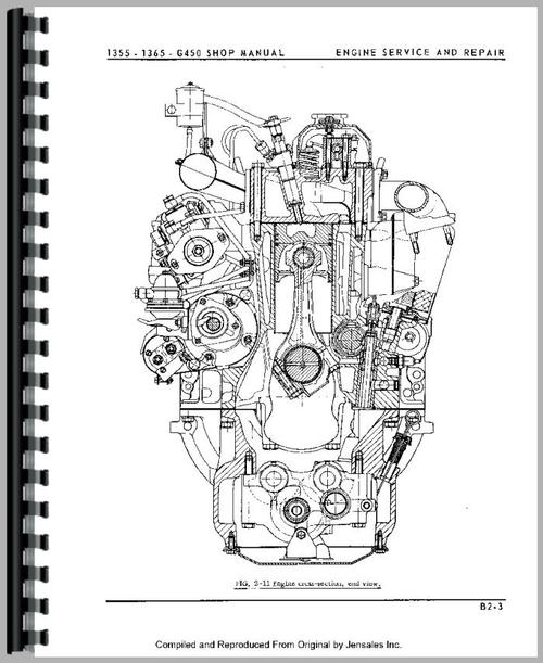 oliver 1370 tractor service manual