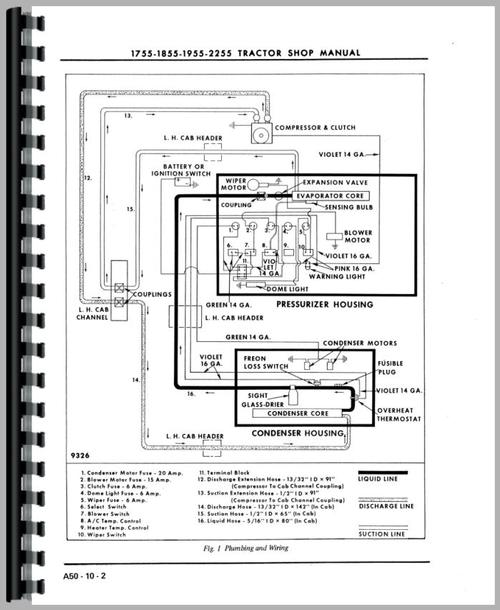 Oliver 1955 Tractor Service Manual on