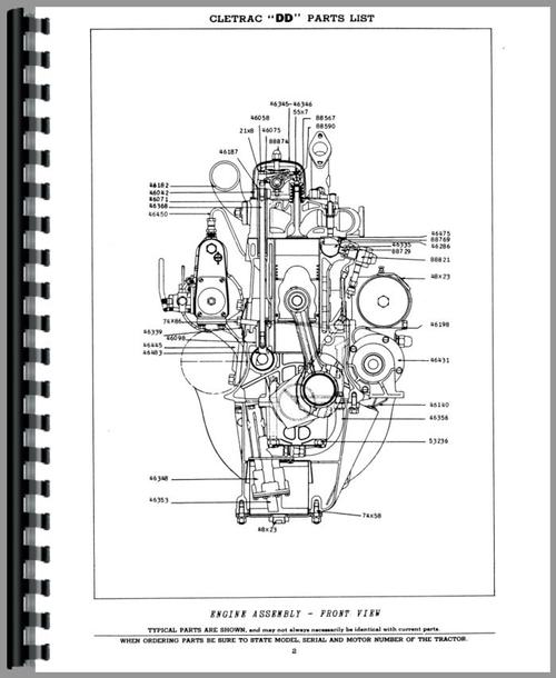 Cletrac Manual on