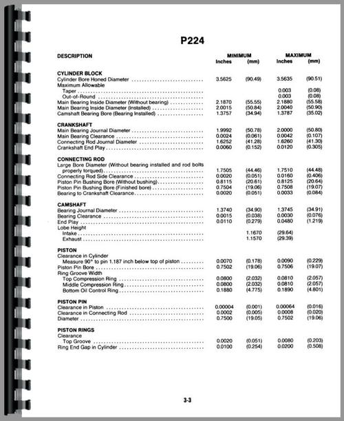 Onan P216 P218 P220 P224 Engine Service Repair Manual: Onan P218 Engine Service Manual