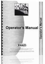 Operators Manual for Allis Chalmers 720 Forage Harvester