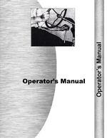 Operators Manual for New Idea 12A Manure Spreader