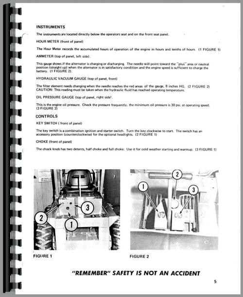 Owatonna 330 Skid Steer Loader Operators Manual
