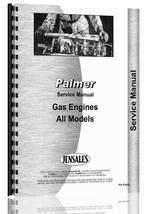 """Service Manual for Palmer C, D, E, F, NK, NL, NR, P1, Q1, Q2, RW Engine"""