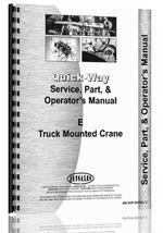 Operators Manual for Quick-Way E Crane