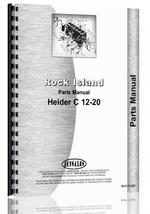 Parts Manual for Rock Island 12-20C Tractor