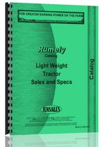 Catalog for Rumely all Light Weight Tractor Pre-1928 Sales Catalog