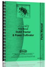 Parts Manual for Rumely all Doall Tractor/Pwr Cult