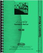 Operators Manual for Rumely 15-30 Oil Pull Tractor