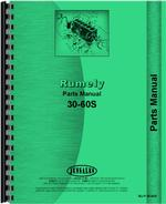 Parts Manual for Rumely 30-60-S Oil Pull Tractor