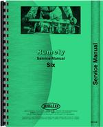 Service Manual for Rumely 6-A Oil Pull Tractor