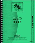 Parts Manual for Rumely F Oil Pull Tractor