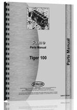 Parts Manual for Same Tiger 100 Tractor