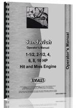 Operators Manual for Sandwich all Engine