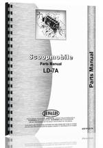 Parts Manual for Scoopmobile LD-7A Tractor