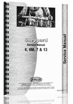 """Service Manual for Sheppard 6, 6M, 7, 13 Tractor & Engine"""
