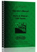 Operators Manual for Steiger Puma 1000 Tractor