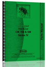 """Parts Manual for Steiger CM, KM, SM Tractor"""