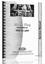 Service Manual for Silver King all Tractor 1942 and Later