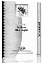 Parts Manual for Stover CT-2 Engine