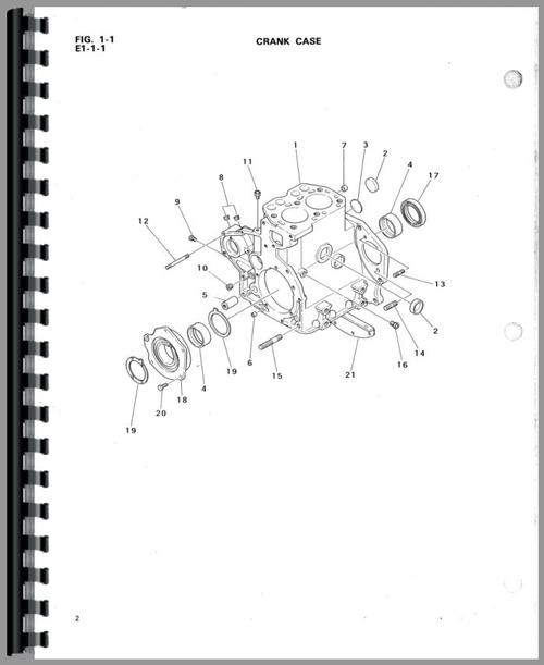 Satoh BeaverS 370D Tractor Manual_97902_3__60105 2 satoh s370d tractor parts manual