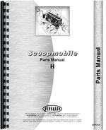 Parts Manual for Scoopmobile H Tractor