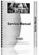 Service Manual for Mitsubishi MT470 Tractor