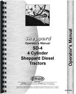 Operators Manual for Sheppard SD4 Engine